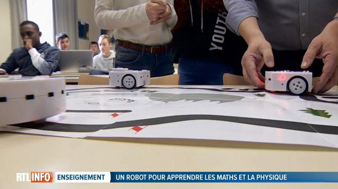 Des robots pour faciliter l'apprentissage des sciences et des maths: une méthode testée à Tournai qui motive les élèves