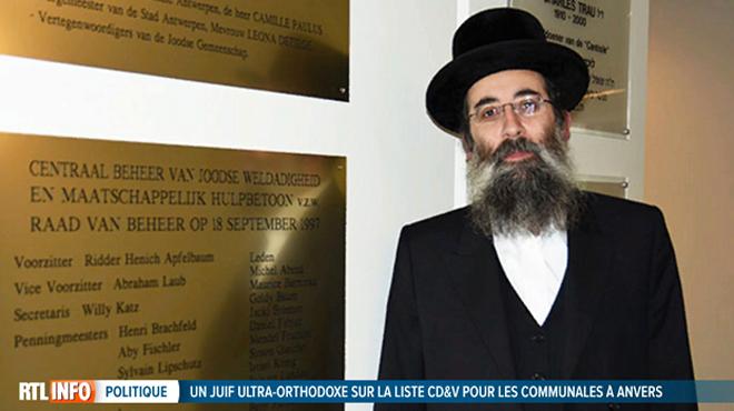 Le CD&V crée la polémique avec un juif ultra-orthodoxe sur sa liste à Anvers: l'homme affirme qu'il refuse de serrer la main à une femme