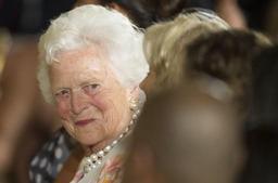 Décès de Barbara Bush, mère et femme de présidents
