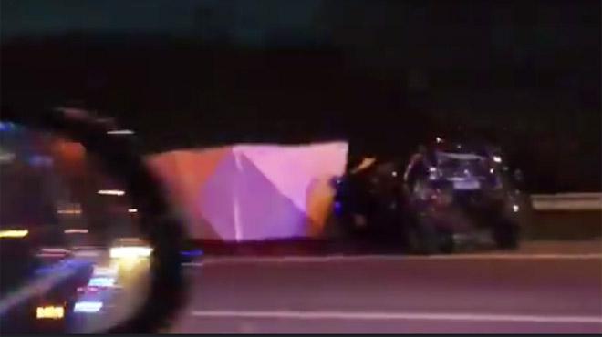 Collision entre un camion et une voiture sur la E42 à Fleurus: éjectée du véhicule, la conductrice est décédée