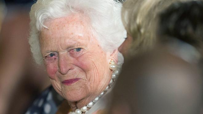 Barbara Bush, ex-première dame des Etats-Unis, est décédée