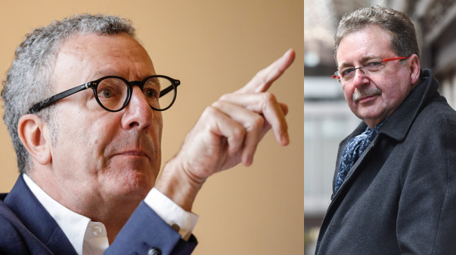 Yvan Mayeur pointe UN COUPABLE: