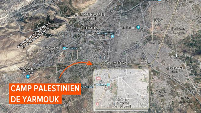 Le régime syrien bombarde le dernier bastion de l'Etat islamique près de la capitale Damas