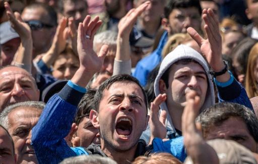 Arménie: la mobilisation contre le nouveau Premier ministre continue