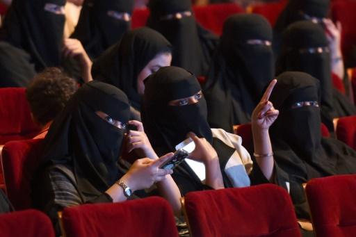 Cinéma: première projection test en Arabie saoudite avec