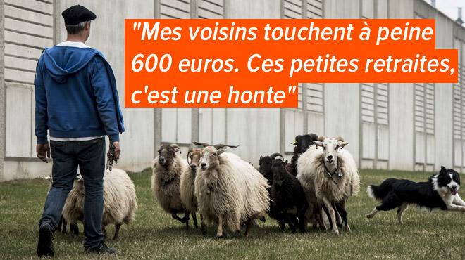 Les agriculteurs en France touchent en moyenne 730 euros de retraite: