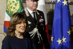 La présidente du Sénat italien chargée de trouver une majorité gouvernementale d'ici vendredi