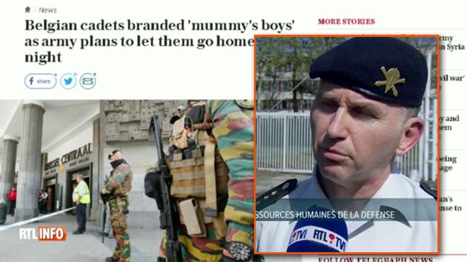La presse anglaise dit que nos jeunes militaires sont des