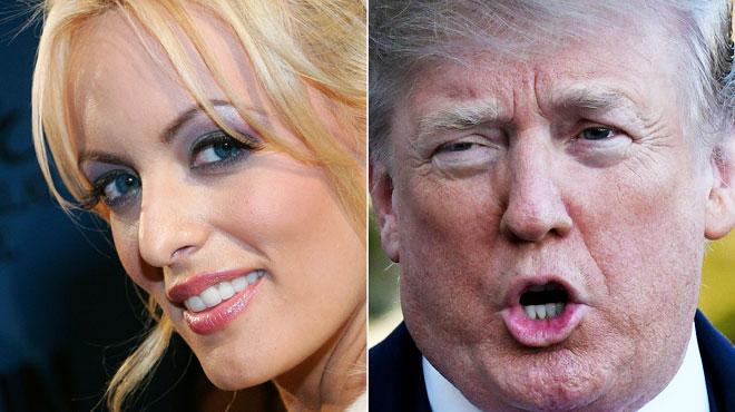 Pour la première fois, Trump réagit dans un tweet aux accusations de l'actrice porno Stormy Daniels