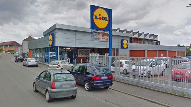 Un homme armé braque un magasin Lidl de Charleroi et vole 400 euros