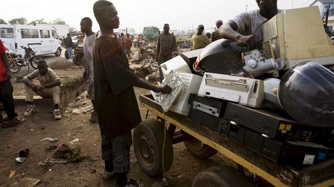La Belgique exporte illégalement des déchets électroniques vers le Nigeria