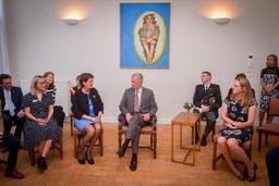 Le Roi visite la communauté laïque de Sant'Egidio à Anvers