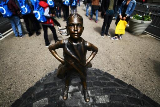 Une statue de petite fille sera installée face à la Bourse de New York
