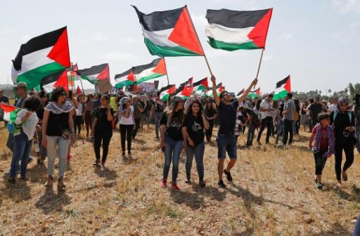 Des Arabes israéliens manifestent à l'occasion de l'anniversaire de l'Etat hébreu