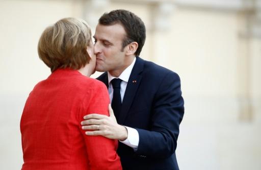 Europe: entre Merkel et Macron le