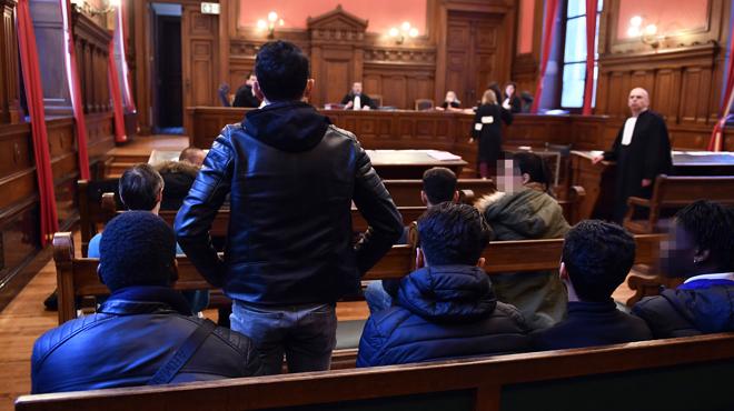 Emeutes à Bruxelles: 5 personnes condamnées, le rappeur Benlabel acquitté