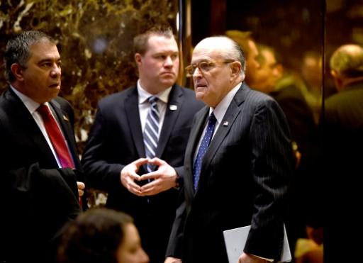 L'ex-maire de New York Rudy Giuliani nouvel avocat de Trump