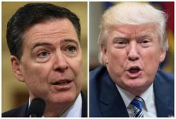 Trump obsédé par l'enquête russe, selon les notes de l'ex-chef du FBI James Comey