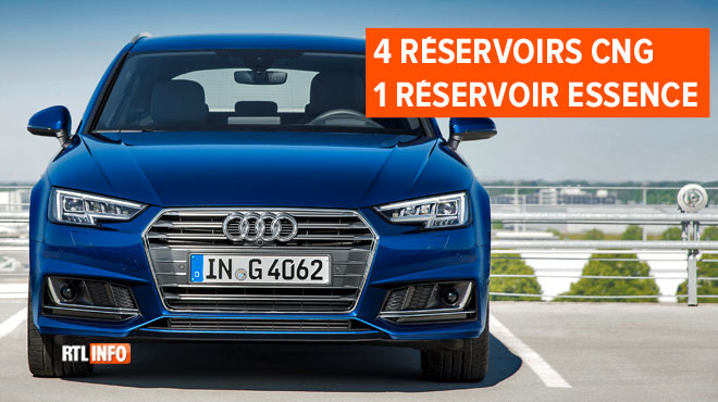 Audi équipe son A4 break d'un moteur essence ET gaz naturel: est-ce vraiment intéressant pour les
