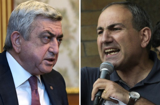 Arménie: Sarkissian veut dialoguer, son adversaire réclame toujours son départ