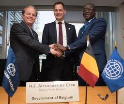 Davantage de Belges à la Banque mondiale