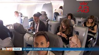 La nouvelle compagnie Air Belgium ouvre ses vols d'essai aux donateurs du Télévie