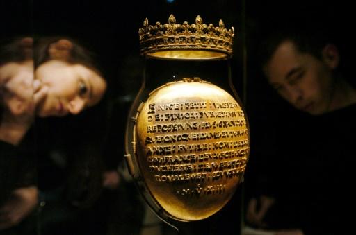 Reliquaire du coeur d'Anne de Bretagne retrouvé, deux hommes mis en examen
