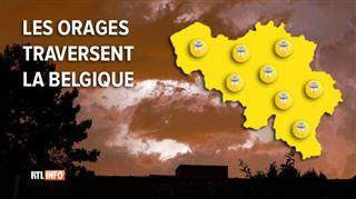 Prévisions météo- nouvel avertissement contre des averses orageuses ce soir ou durant la nuit 3