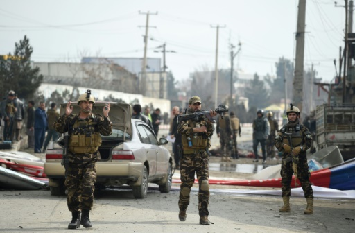 Kaboul: un centre électoral visé par un attentat-suicide