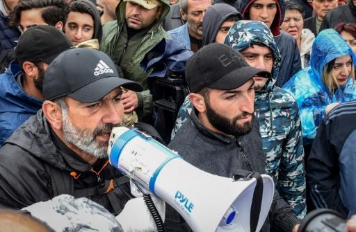 Arménie: l'opposant Pachinian