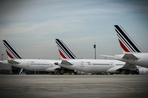 Grève à Air France: 75% des vols seront assurés lundi