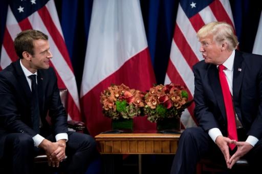 Nucléaire iranien: Macron peut-il convaincre Trump de sauver l'accord ?