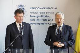 Le couple royal et le ministre des Affaires étrangères en visite de travail à New York