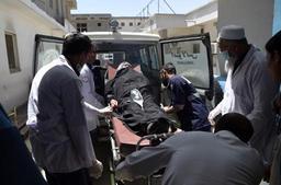 Afghanistan: le bilan de l'attentat-suicide de Kaboul passe à 48 morts et 112 blessés