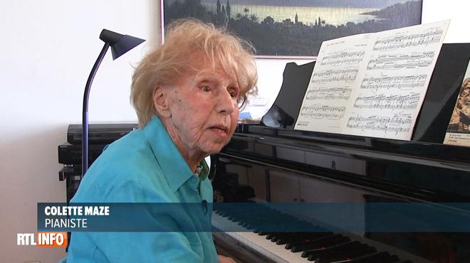 Colette a 103 ans: elle joue toujours du piano... et vient même de sortir un album!