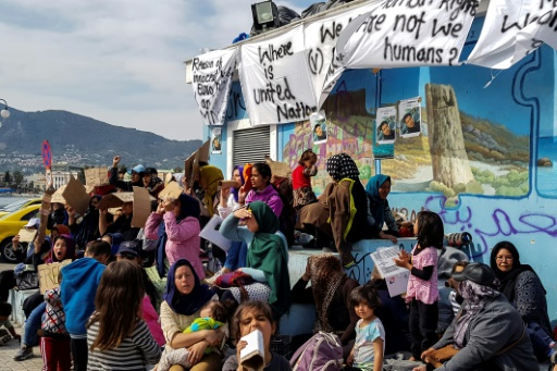 Grèce: des migrants blessés à Lesbos lors de heurts avec l'extrême-droite