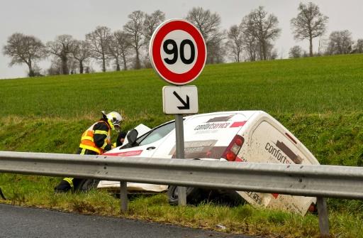 Sécurité routière: le nombre de morts en baisse de 13,5% en mars sur un an