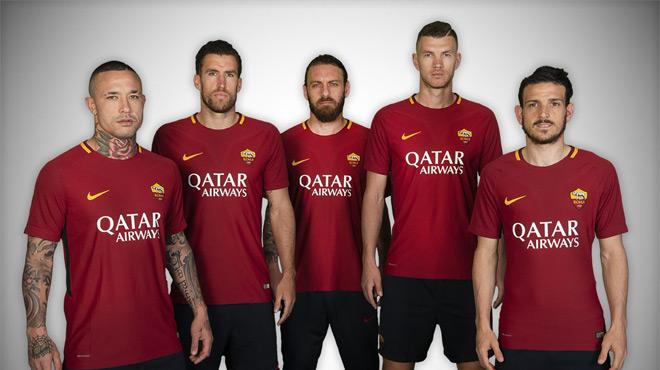 Un nouveau sponsor maillot — AS Roma