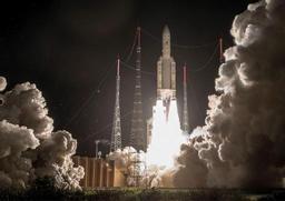 L'Europe lance un satellite