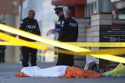Piétons renversés à Toronto - Dix personnes tuées dans un acte