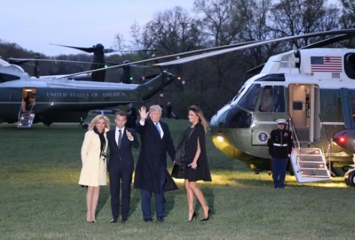 Le dîner glamour des Trump et des Macron à Mount Vernon