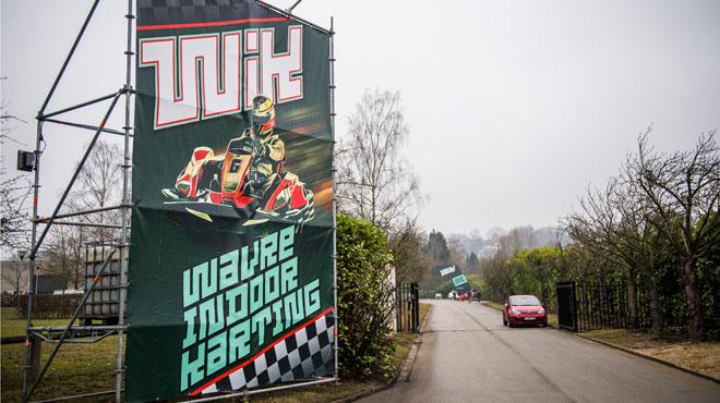 Oubliés les problèmes techniques et les incidents de février 2017, le karting de Wavre rouvre avec des véhicules ÉLECTRIQUES