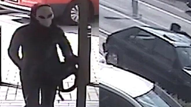 Vol à main armé dans une pharmacie à La Bruyère: reconnaissez-vous cet homme ou cette vieille voiture? (vidéo)