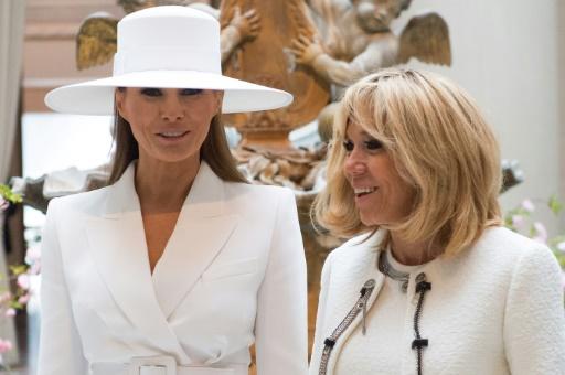 Escapade culturelle pour Brigitte Macron et Melania Trump à Washington