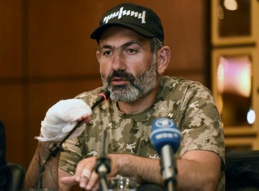 Arménie: Nikol Pachinian, l'ancien fugitif