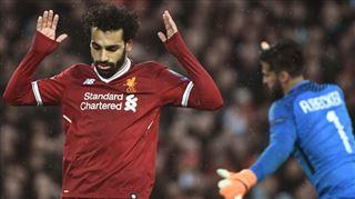 Le superbe but de Mohamed Salah face à l'AS Rome (vidéo)