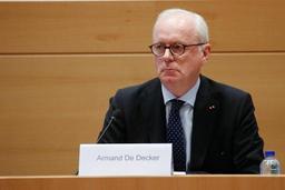 Kazakhgate: le rôle de l'ancien président du Sénat Armand De Decker unanimement condamné