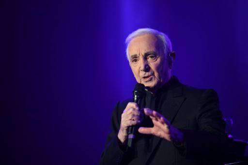 Aznavour annule un concert en Russie à cause d'un tour de reins