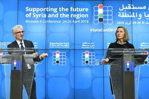 Syrie: les donateurs peinent à se mobiliser, appel à la reprise des pourparlers de paix