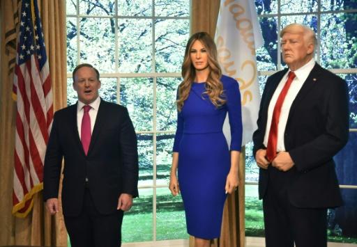 Melania Trump, l'énigmatique Première dame, nouvelle attraction de cire à New York